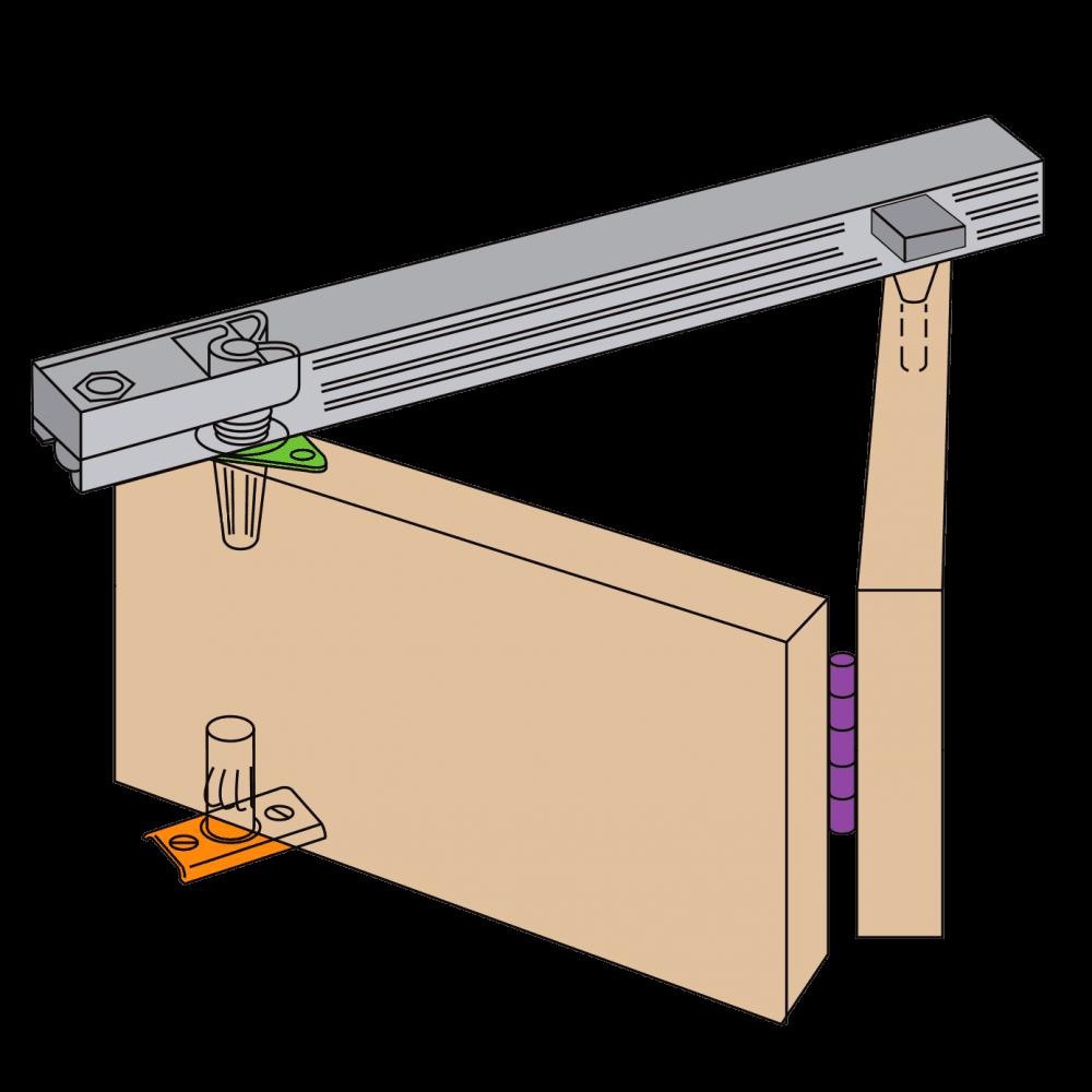Henderson Henderson Bifold Folding Track Sliding Door Gear